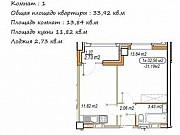 1-комнатная квартира, 33.9 м², 12/18 эт. Волгоград
