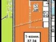 Студия, 37.2 м², 12/18 эт. Иркутск