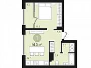 1-комнатная квартира, 46 м², 6/10 эт. Сургут