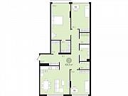 3-комнатная квартира, 105.4 м², 2/10 эт. Тюмень