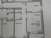 2-комнатная квартира, 72 м², 12/17 эт. Чита