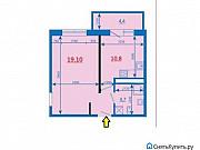 1-комнатная квартира, 42 м², 11/16 эт. Иркутск