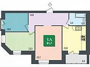 3-комнатная квартира, 81.7 м², 7/7 эт. Волгоград