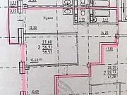 2-комнатная квартира, 59 м², 2/9 эт. Салехард
