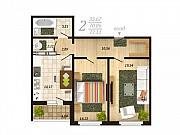 2-комнатная квартира, 72.1 м², 12/16 эт. Липецк