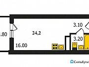 Студия, 24.2 м², 9/18 эт. Владимир