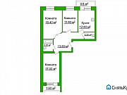 3-комнатная квартира, 80 м², 1/6 эт. Ярославль