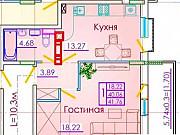 1-комнатная квартира, 42 м², 2/7 эт. Геленджик