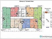 1-комнатная квартира, 44 м², 6/8 эт. Геленджик