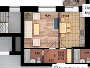 1-комнатная квартира, 37.7 м², 2/5 эт. Новая Усмань