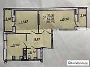 2-комнатная квартира, 64 м², 3/16 эт. Брянск