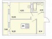 2-комнатная квартира, 48 м², 2/25 эт. Новосибирск