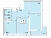 3-комнатная квартира, 75 м², 2/25 эт. Новосибирск
