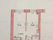 1-комнатная квартира, 54 м², 2/2 эт. Городовиковск