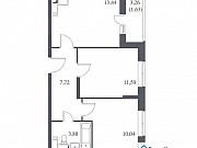 2-комнатная квартира, 48.3 м², 8/14 эт. Щербинка