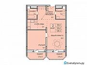 2-комнатная квартира, 59.4 м², 12/14 эт. Тула