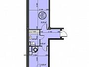 1-комнатная квартира, 40.8 м², 9/9 эт. Ессентуки