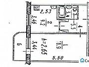 Комната 19 м² в 1-ком. кв., 3/10 эт. Омск