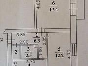 Комната 18 м² в 2-ком. кв., 2/2 эт. Кемерово