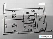 3-комнатная квартира, 53.4 м², 2/2 эт. Киржач