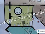 1-комнатная квартира, 46.2 м², 14/17 эт. Владимир