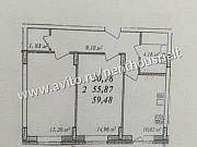 2-комнатная квартира, 59.5 м², 13/17 эт. Владимир