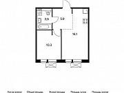 2-комнатная квартира, 71.8 м², 9/9 эт. Московский