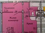 1-комнатная квартира, 40 м², 17/18 эт. Курск