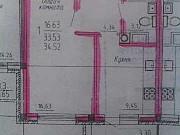 1-комнатная квартира, 34.5 м², 4/5 эт. Атемар