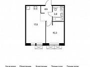 1-комнатная квартира, 36.1 м², 7/9 эт. Московский