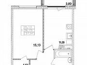 1-комнатная квартира, 36.8 м², 3/3 эт. Павловская Слобода