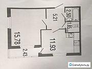 1-комнатная квартира, 37.5 м², 1/3 эт. Владивосток