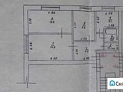 3-комнатная квартира, 50 м², 1/2 эт. Рыльск