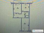 2-комнатная квартира, 49 м², 3/5 эт. Остров