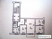 Комната 22.5 м² в 4-ком. кв., 4/5 эт. Калуга