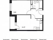 1-комнатная квартира, 35.8 м², 16/17 эт. Томилино