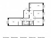 3-комнатная квартира, 88.2 м², 11/14 эт. Мытищи