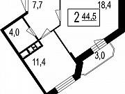2-комнатная квартира, 41.5 м², 7/7 эт. Мытищи
