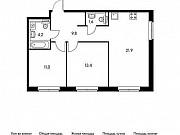 2-комнатная квартира, 61.7 м², 24/25 эт. Мытищи