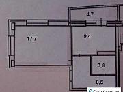 1-комнатная квартира, 42 м², 13/16 эт. Чебоксары