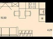 Студия, 26 м², 9/17 эт. Пенза
