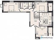 3-комнатная квартира, 82.9 м², 9/24 эт. Мытищи