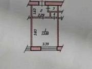 1-комнатная квартира, 18.2 м², 4/5 эт. Чебоксары