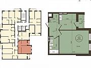1-комнатная квартира, 48.6 м², 9/18 эт. Новосибирск