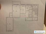 3-комнатная квартира, 61 м², 4/9 эт. Архангельск