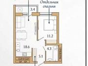 1-комнатная квартира, 40.2 м², 14/16 эт. Сургут