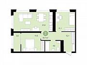 2-комнатная квартира, 65.7 м², 12/16 эт. Сургут
