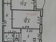 2-комнатная квартира, 50 м², 2/9 эт. Волгоград