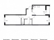 2-комнатная квартира, 55.7 м², 2/17 эт. Томилино