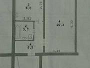 1-комнатная квартира, 38 м², 3/5 эт. Советский